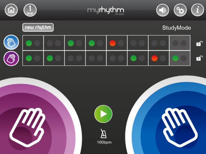 green and red dots on MyRhythm